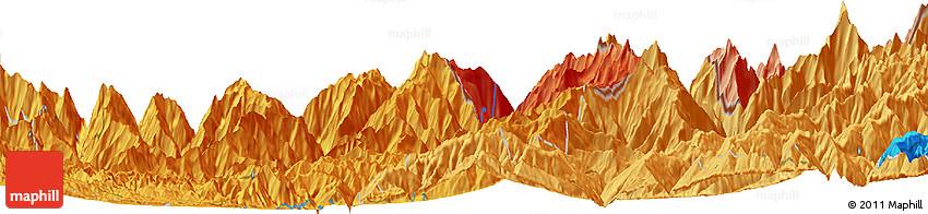 Political Horizon Map of Panaoti