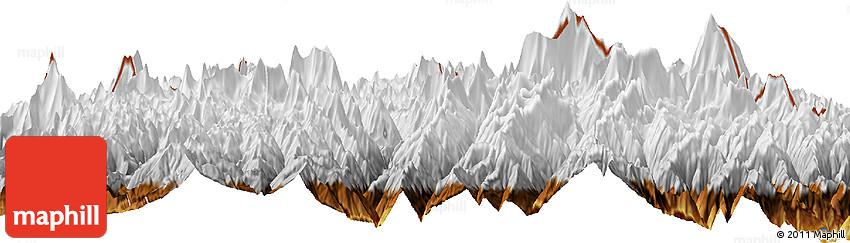 Physical Horizon Map of Lobuche