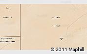 Satellite 3D Map of Tindouf
