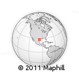 Outline Map of 78336, rectangular outline