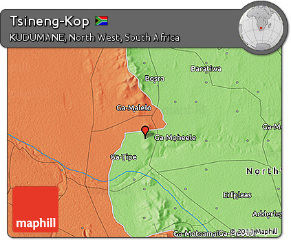 Free Political 3D Map of Tsineng-Kop on directory map, koa map, mac map, sci-fi map, man map, key map, kos map, mop map,