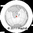 Outline Map of Ponta Do Ouro, rectangular outline