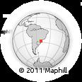 Outline Map of Agronômica, rectangular outline