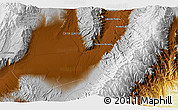 Physical 3D Map of San José