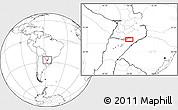 Blank Location Map of Encarnación
