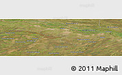 "Satellite Panoramic Map of the area around 27° 29' 28"" S, 57° 43' 30"" W"