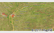Satellite 3D Map of Ingenio Primer Correntino