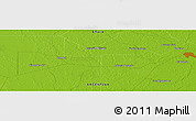 "Physical Panoramic Map of the area around 27° 29' 28"" S, 59° 25' 29"" W"