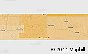 """Political Panoramic Map of the area around 27°29'28""""S,60°16'29""""W"""