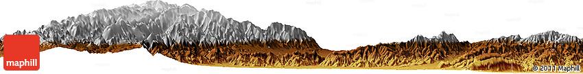 Physical Horizon Map of Cóndorhuasi