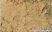 Satellite Map of Mondlo
