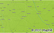 Physical Map of Taboada