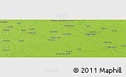 Physical Panoramic Map of Taboada