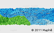 """Political Panoramic Map of the area around 28°18'5""""N,106°19'29""""E"""