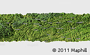 "Satellite Panoramic Map of the area around 28°18'5""N,106°19'29""E"