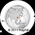 Outline Map of Aimen, rectangular outline