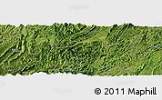 Satellite Panoramic Map of Aimen