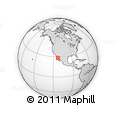 """Outline Map of the Area around 28° 18' 5"""" N, 112° 58' 29"""" W, rectangular outline"""