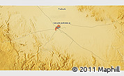 Physical 3D Map of Tabūk