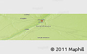 """Physical Panoramic Map of the area around 28°18'5""""N,45°58'30""""E"""