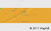 """Political Panoramic Map of the area around 28°18'5""""N,45°58'30""""E"""