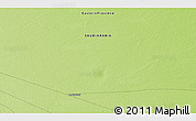 """Physical 3D Map of the area around 28°18'5""""N,46°49'30""""E"""