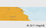 """Political Panoramic Map of the area around 28°18'5""""N,48°31'29""""E"""