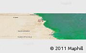 "Satellite Panoramic Map of the area around 28°18'5""N,48°31'29""E"