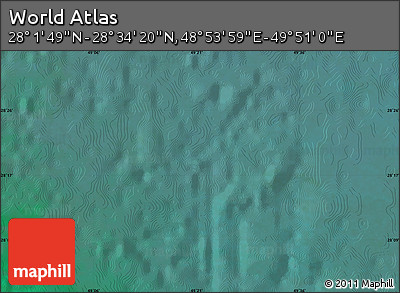 "Satellite Map of the Area around 28°18'5""N,49°22'30""E"