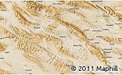 "Satellite Map of the area around 28°18'5""N,52°46'29""E"