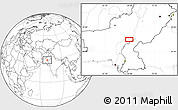 """Blank Location Map of the area around 28°18'5""""N,68°55'30""""E"""