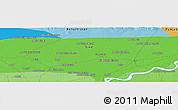 """Political Panoramic Map of the area around 28°18'5""""N,68°55'30""""E"""
