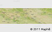 Satellite Panoramic Map of Bahjoi