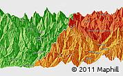Political Panoramic Map of Burāthum