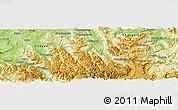 Physical Panoramic Map of Leishendian