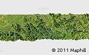 Satellite Panoramic Map of Leishendian