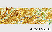 Physical Panoramic Map of Lingxiao