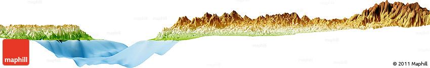 Physical Horizon Map of Nuweiba'