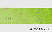 """Physical Panoramic Map of the area around 28°47'8""""N,47°40'29""""E"""