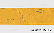 """Political Panoramic Map of the area around 28°47'8""""N,47°40'29""""E"""