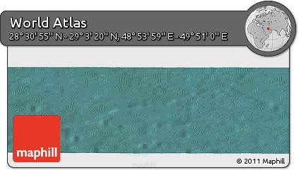 "Satellite Panoramic Map of the Area around 28°47'8""N,49°22'30""E"