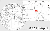 """Blank Location Map of the area around 28°47'8""""N,67°13'29""""E"""