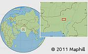 "Savanna Style Location Map of the area around 28°47'8""N,67°13'29""E"