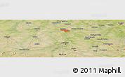 Satellite Panoramic Map of Rohtak