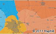 Political Map of Delhi