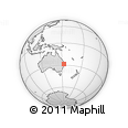 Outline Map of 152 Jack Smiths Rd, rectangular outline