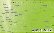 Physical Map of Punua