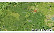 Satellite 3D Map of Zigong