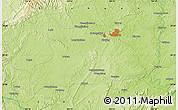 Physical Map of Chengjiachang