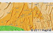Political 3D Map of Dadukou